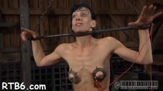 Facial and snatch torture for playgirl